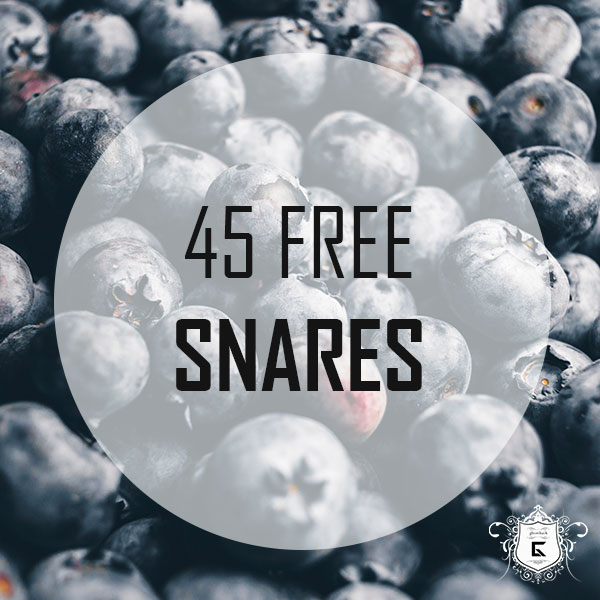 45 Free Snares and Claps