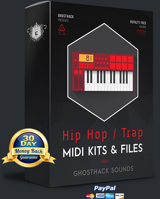 Hip Hop / Trap MIDI Kits & Files