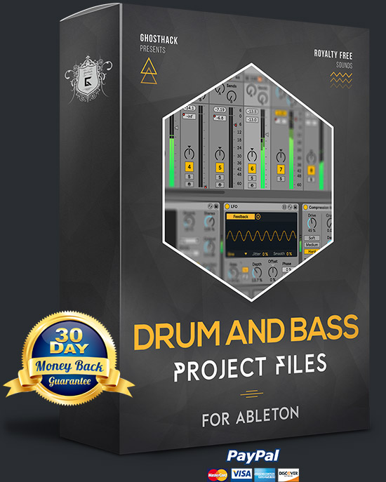 DnB Project Files for Ableton