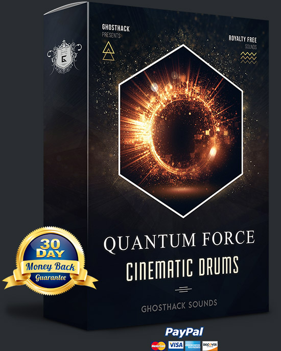 Quantum Force - Cinematic Drums