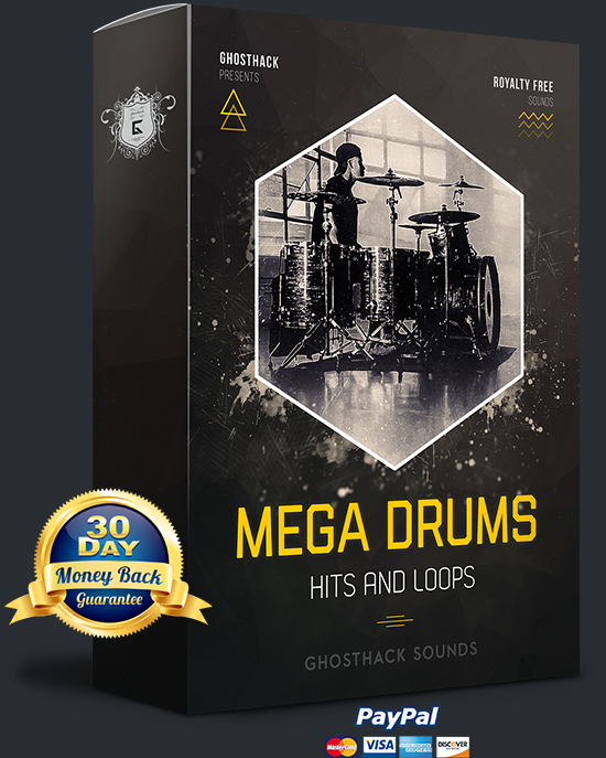 Mega Drums - Hits and Loops