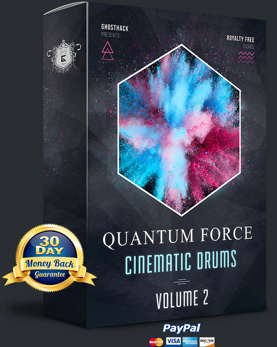 Quantum Force  2 - Cinematic Drums