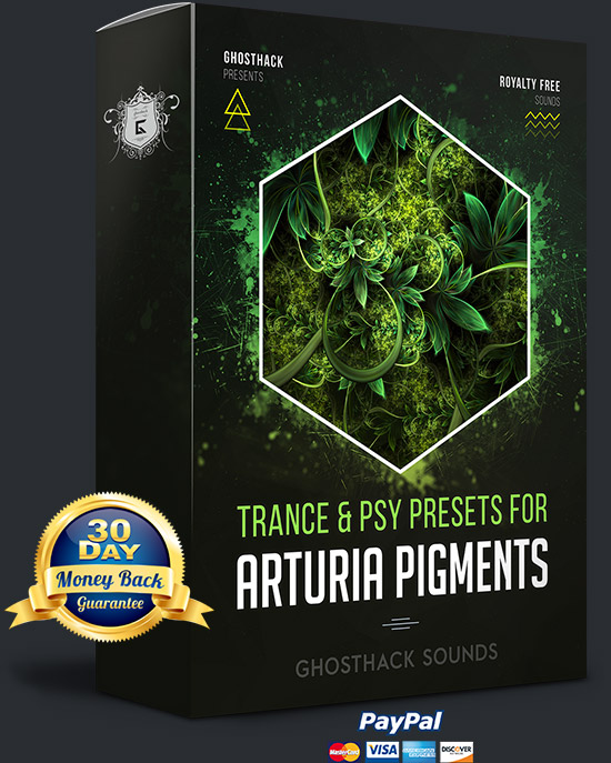 Trance and Psy Presets for Pigments