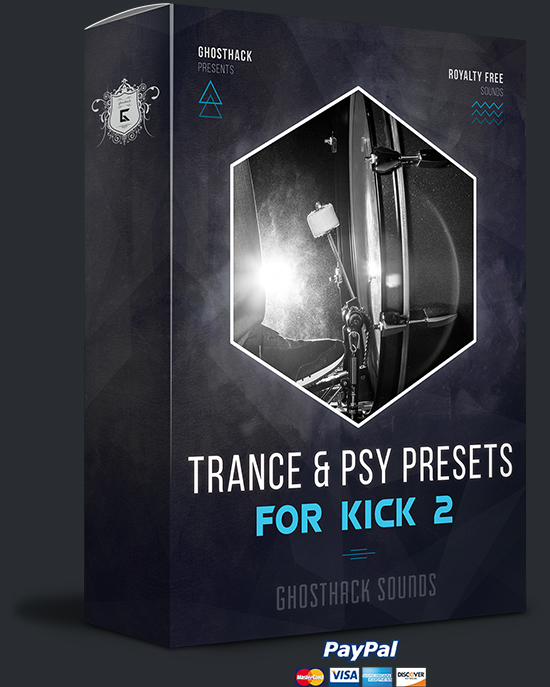 Trance and Psy Presets for Kick 2