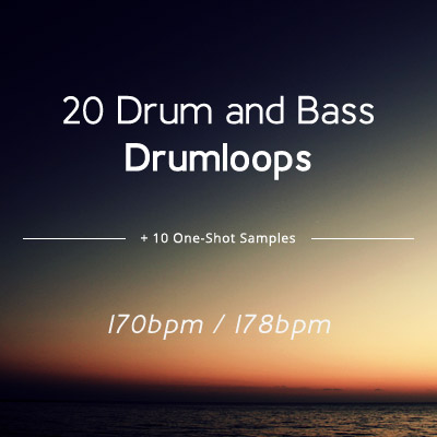 20 free DnB Loops and 10 One-Shot Drum Samples