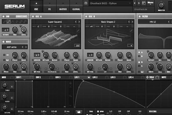 Ghost Tech for Serum